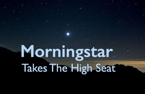 Morningstar Takes The High Seat Course