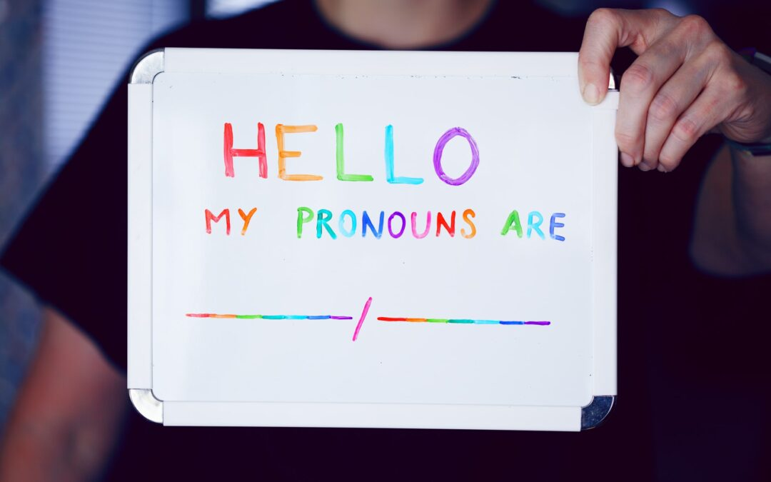 Intro to the Use of Personal Pronouns